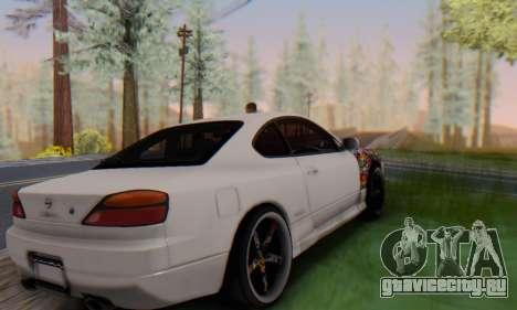 Nissan Silvia S15 Metal Style для GTA San Andreas вид слева