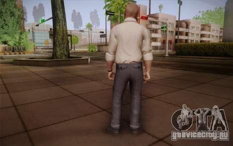 Special Agent Jason Hudson из CoD: Black Ops для GTA San Andreas второй скриншот