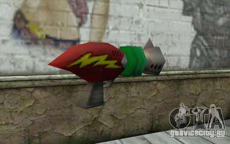 Cortexs Ray Gun для GTA San Andreas второй скриншот