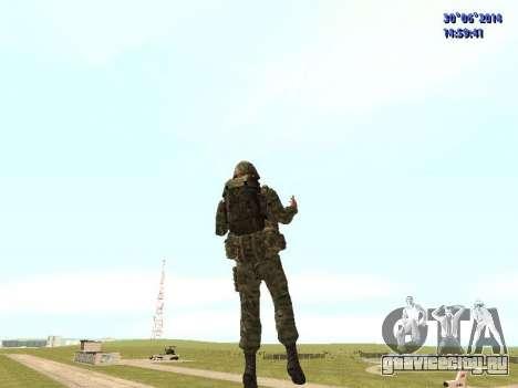 Боец ВС РФ для GTA San Andreas пятый скриншот