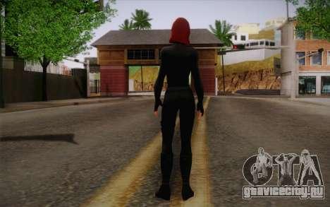 Scarlet Johansson из Avengers для GTA San Andreas второй скриншот