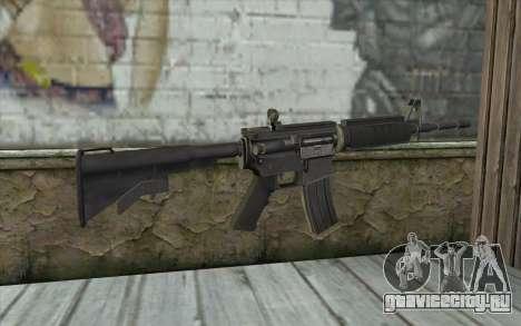 SGW M4 Rifle для GTA San Andreas второй скриншот