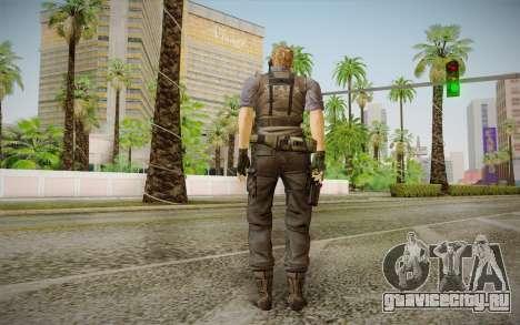 Wesker Stars from Resident Evil 5 для GTA San Andreas второй скриншот