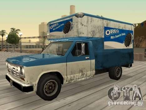 Новая реклама на автомобилях для GTA San Andreas девятый скриншот