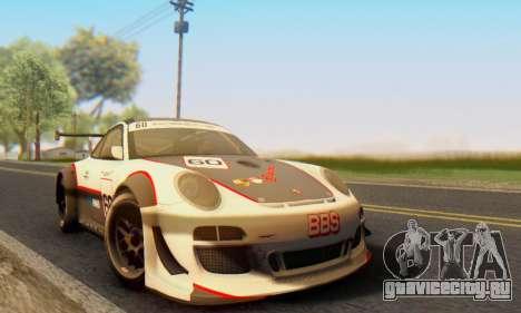Porsche GT3 R 2009 для GTA San Andreas вид слева