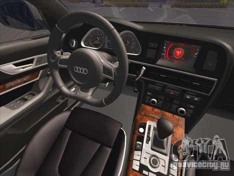 Audi RS6 для GTA San Andreas вид сверху