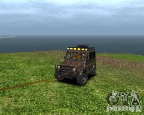 УАЗ 31514 Экспедиционный для GTA 4 вид слева