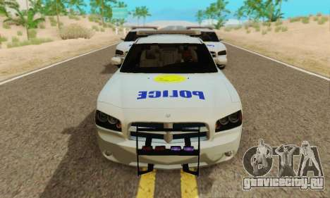 Pursuit Edition Police Dodge Charger SRT8 для GTA San Andreas вид слева