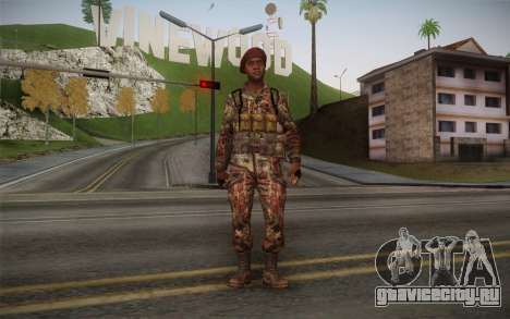 U.S. Soldier v2 для GTA San Andreas