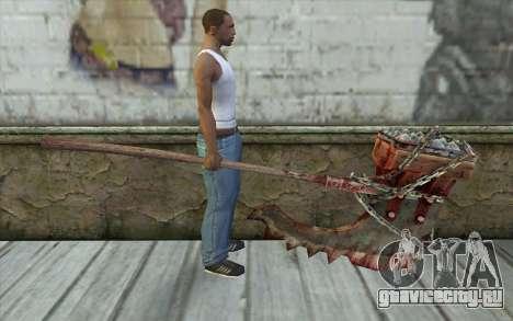 Топор палача (Resident Evil 5) для GTA San Andreas третий скриншот