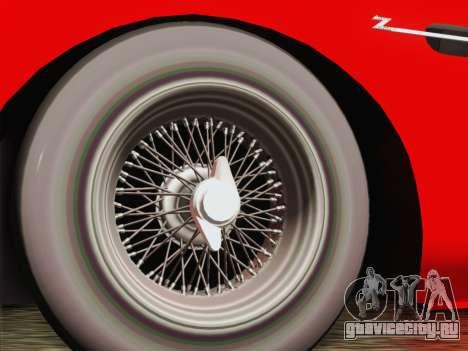 Aston Martin DB4 Zagato 1960 для GTA San Andreas вид сзади слева