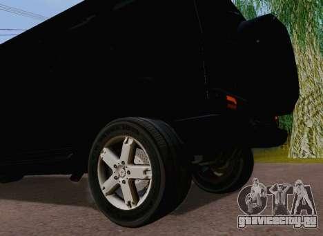 Mercedes-Benz G500 Limousine для GTA San Andreas вид сзади