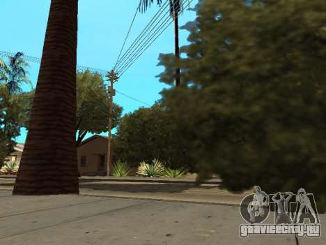 Джунгли на ул. Ацтек для GTA San Andreas четвёртый скриншот