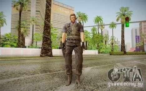 Wesker Stars from Resident Evil 5 для GTA San Andreas
