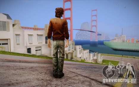 Luke из The Walking Dead для GTA San Andreas второй скриншот