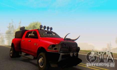 Dodge Ram 3500 Super Reforzada для GTA San Andreas