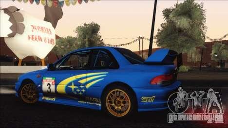 Subaru Impreza 22B STi 1998 для GTA San Andreas двигатель