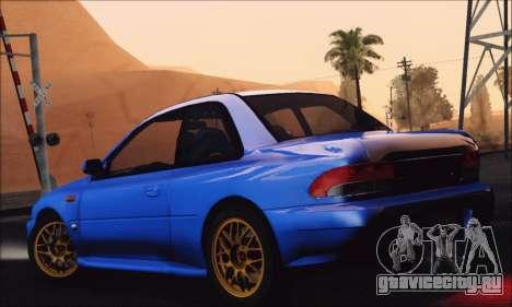 Subaru Impreza 22B STi 1998 для GTA San Andreas вид слева