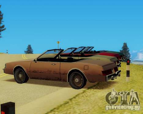 Majestic Кабриолет для GTA San Andreas вид справа