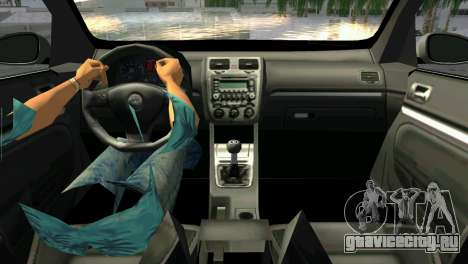 Volkswagen Golf V GTI для GTA Vice City вид сзади слева