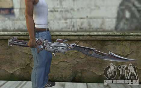 Lightnings Sword from Final Fantasy для GTA San Andreas третий скриншот