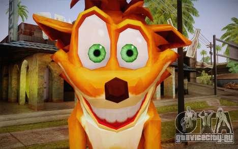 Crash Bandicoot (Crash Of The Titans) для GTA San Andreas третий скриншот