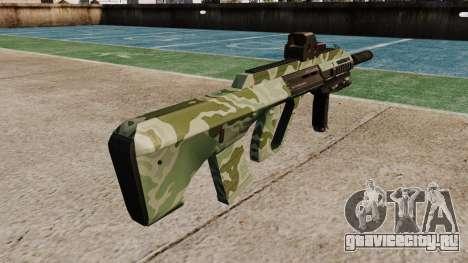 Автомат Steyr AUG-A3 Optic Green Camo для GTA 4 второй скриншот