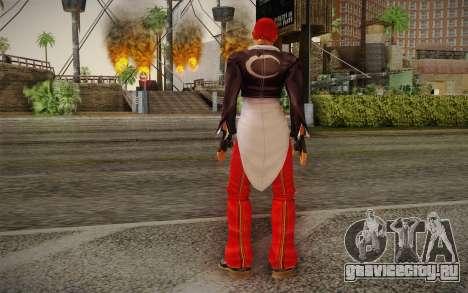 Iori Yagami для GTA San Andreas второй скриншот