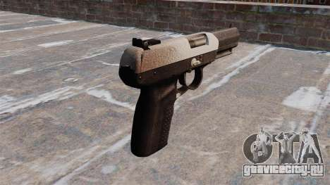 Пистолет FN Five-seveN Chrome для GTA 4 второй скриншот