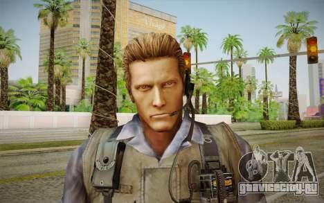 Wesker Stars from Resident Evil 5 для GTA San Andreas третий скриншот