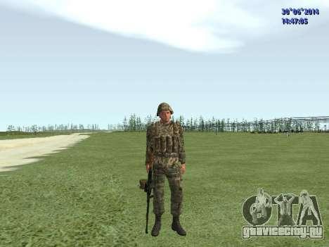 Боец ВС РФ для GTA San Andreas седьмой скриншот