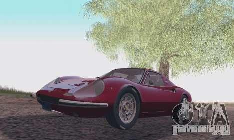 Ferrari Dino 246 GTS Coupe для GTA San Andreas