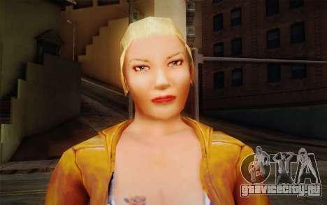 Woman Autoracer from FlatOut v1 для GTA San Andreas третий скриншот