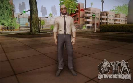 Special Agent Jason Hudson из CoD: Black Ops для GTA San Andreas