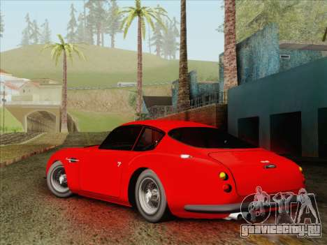 Aston Martin DB4 Zagato 1960 для GTA San Andreas вид слева