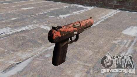 Пистолет FN Five-seveN Red tiger для GTA 4 второй скриншот