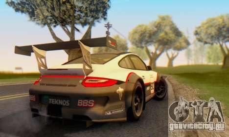 Porsche GT3 R 2009 для GTA San Andreas вид справа