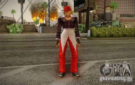 Iori Yagami для GTA San Andreas