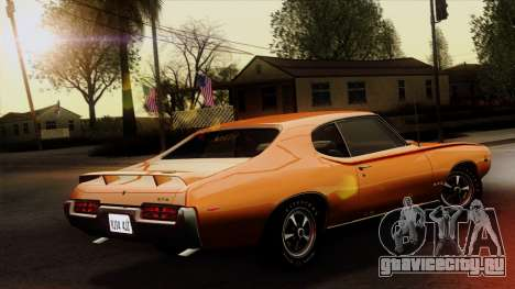 Pontiac GTO The Judge Hardtop Coupe 1969 для GTA San Andreas вид слева