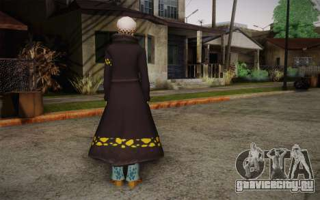 One Piece Trafalgar Law для GTA San Andreas второй скриншот