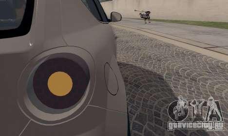 Afla Romeo Mito Quadrifoglio Verde для GTA San Andreas вид снизу