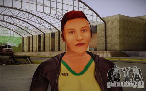 Woman Autoracer from FlatOut v3 для GTA San Andreas третий скриншот