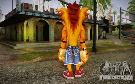 Crash Bandicoot (Crash Of The Titans) для GTA San Andreas второй скриншот
