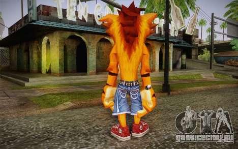 Crash Bandicoot (Crash Of The Titans) для GTA San Andreas второй скриншот