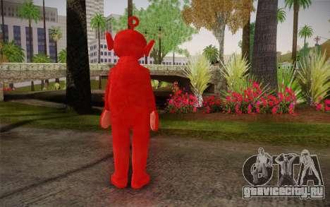 По (Телепузики) для GTA San Andreas второй скриншот