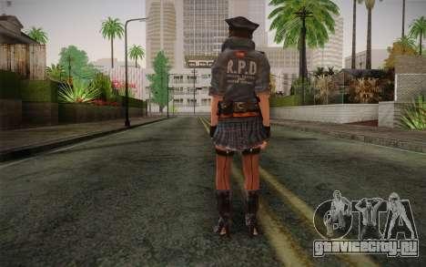 Helena Harper Police Version для GTA San Andreas второй скриншот