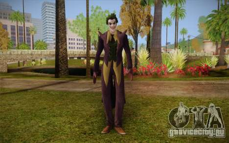 Joker from Injustice для GTA San Andreas