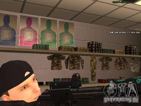 АК-74 для GTA San Andreas четвёртый скриншот