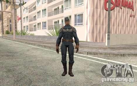Captain America для GTA San Andreas
