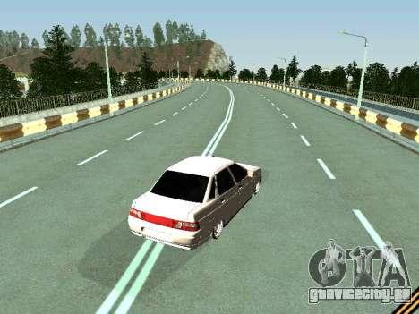 Ваз 2110-2170 для GTA San Andreas вид справа